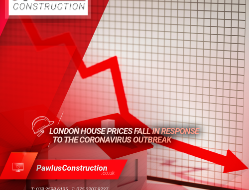 London house prices fall in response to the coronavirus outbreak