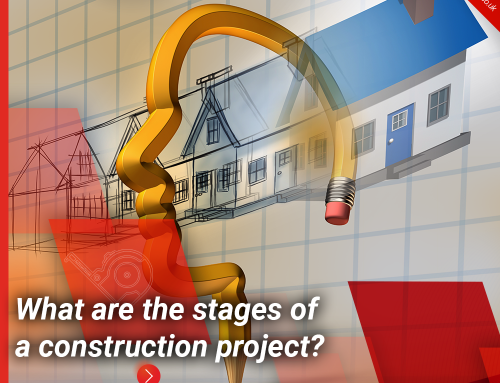 What are the stages of a construction project?