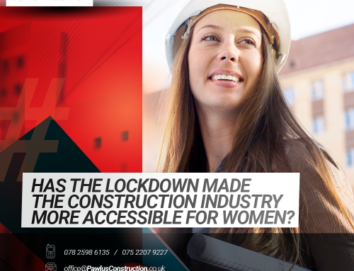 Has the lockdown made the construction industry more accessible for women?