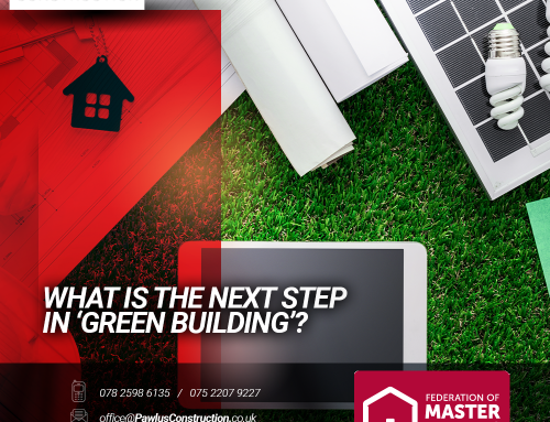 What is the next step in 'green building'?