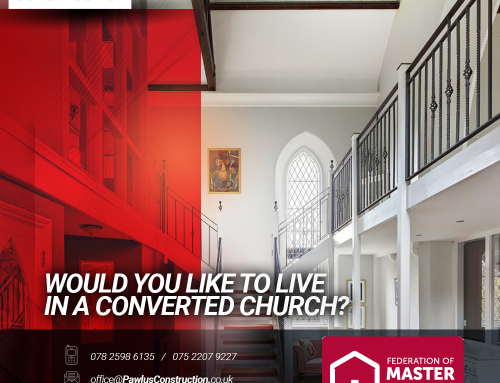 Would you like to live in a converted church?