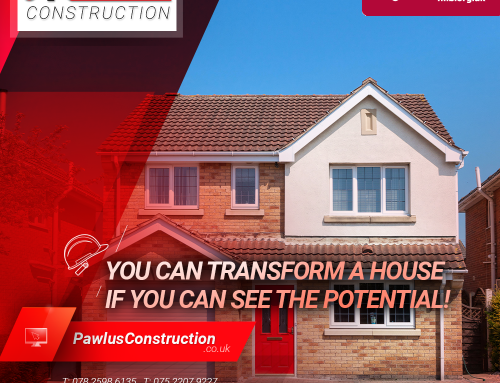 You can transform a house if you can see the potential!