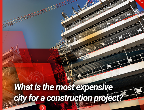 What is the most expensive city for a construction project?