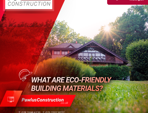 What are eco-friendly building materials?