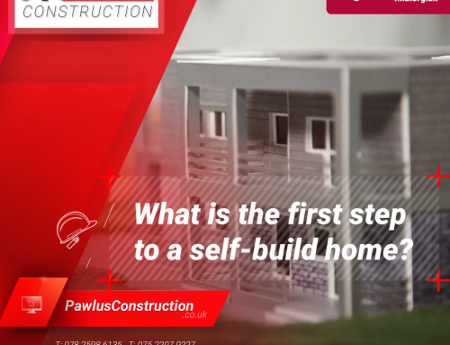 What is the first step to a self-build home?
