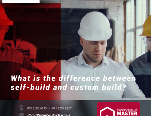 What is the difference between self-build and custom build?